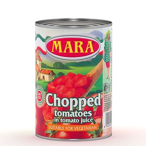 CHOPPED TOMS 800G