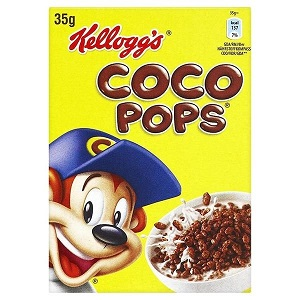 coco pops portion