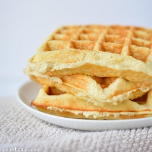 REDUCED SUGAR PLAIN WAFFLE