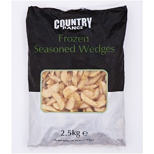 COUNTRY RANGE SEASONED WEDGES