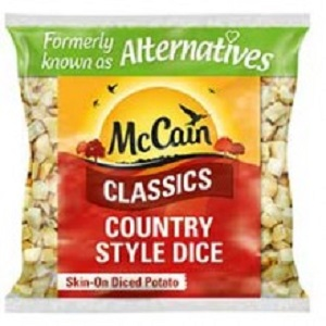 McCAINS SAVOURY HERB POTATO DICE