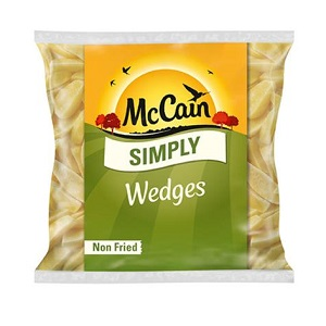 McCAINS SIMPLY POTATO WEDGES