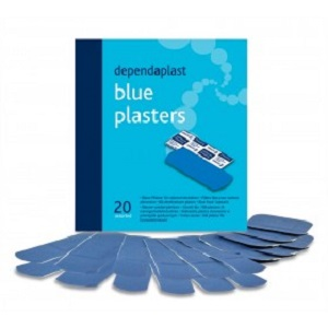 BLUE PLASTERS ASSORTED