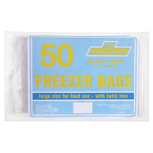 "CATERPACK 12""x18"" FREEZER BAGS"
