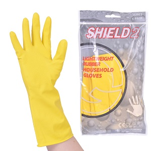 GLOVE KING RUBBER GLOVES MEDIUM