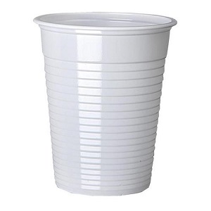 WHITE 7oz CUPS vENDING - TALL COLD