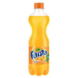 FANTA ORANGE BOTTLES
